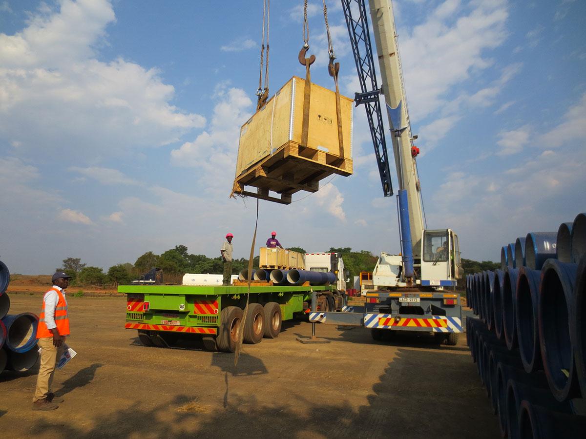Polytra Zambia                 Handling